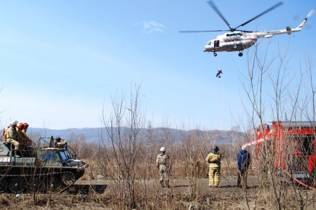 Управление лесами Правительства Хабаровского края приняло участие  в межведомственных учениях