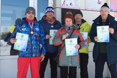 Призером Спартакиады Правительства Хабаровского края стала мужская лыжная сборная управления лесами