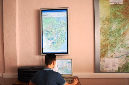 На территории Хабаровского края природных пожаров нет