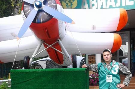 Максим Бобыльский представил Хабаровский край на Всероссийском конкурсе «Лучший лесной пожарный»