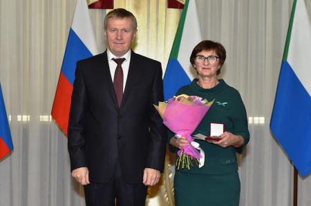В Хабаровском крае наградили лучшего лесовода