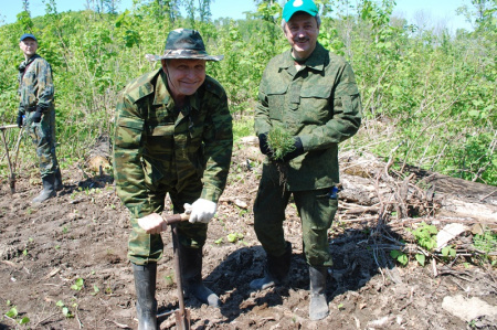 18 мая Всероссийский день посадки леса
