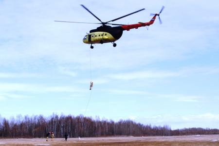 В Хабаровском крае прошли тренировки «лесного спецназа»
