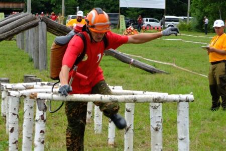 В Хабаровском крае определился лучший лесной пожарный