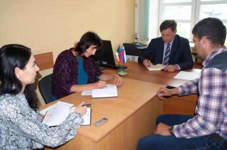 В управлении лесами Правительства Хабаровского края состоялся прием граждан